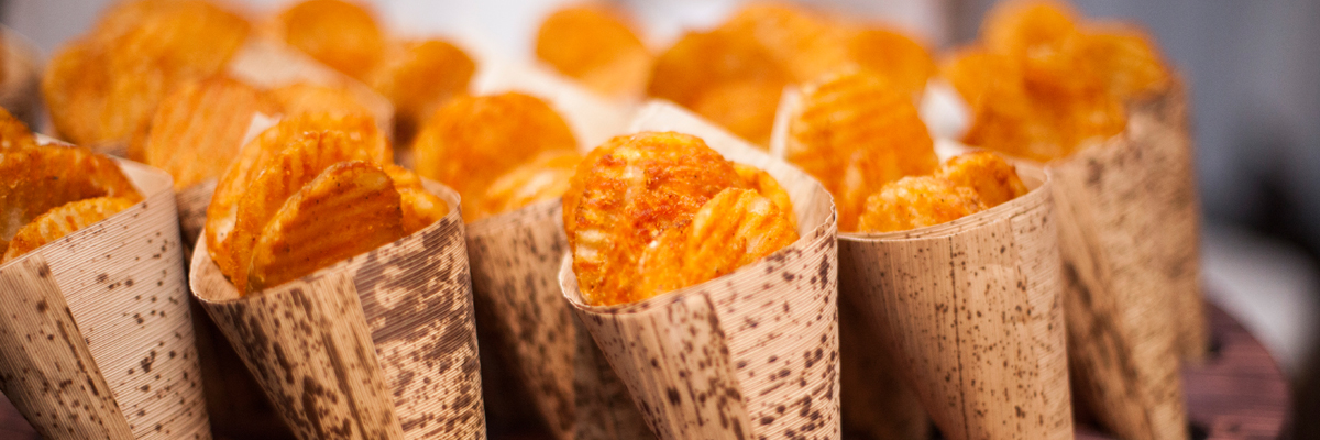 house-made sweet potato chips