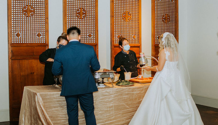 bridegroom buffet