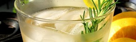 Rosemary-Ginger Cocktail