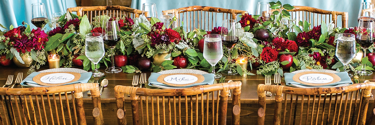 Creative Catering for Fall Weddings